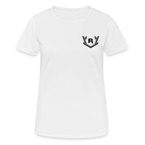 Rudolfi small logo - vrouwen T-shirt ademend