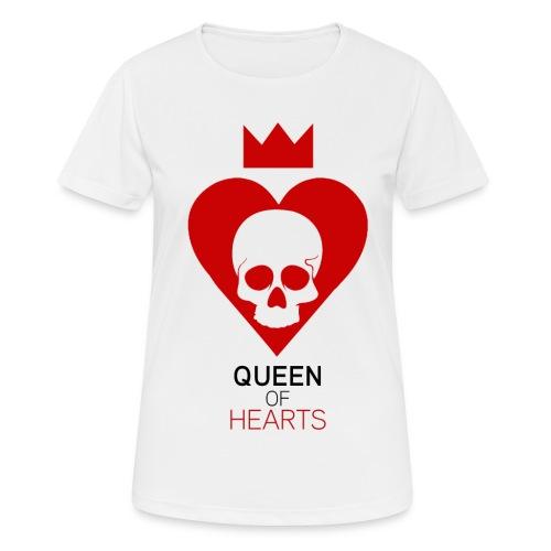 Tee shirt manches longues Reine des Coeurs - T-shirt respirant Femme