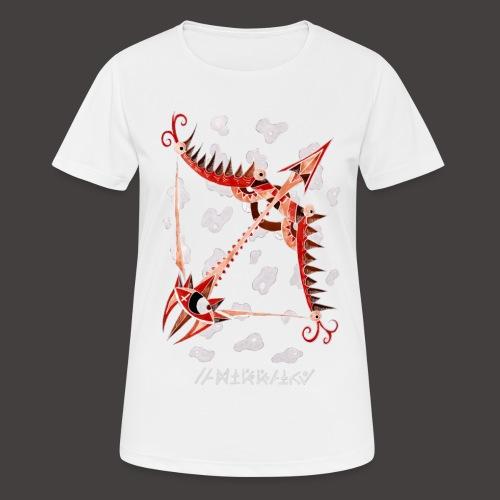 Sagittaire Négutif - T-shirt respirant Femme