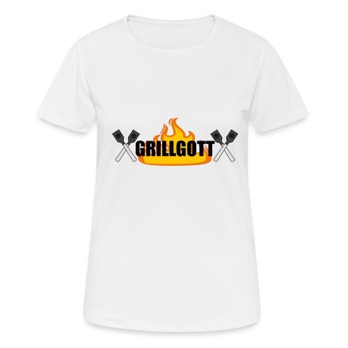 Grillgott Meister des Grillens - Frauen T-Shirt atmungsaktiv
