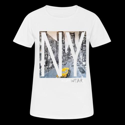 TIME SQUARE - Frauen T-Shirt atmungsaktiv