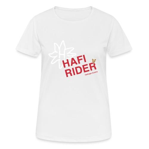 Hafi-Rider / Haflinger / Pferd / Pony - Frauen T-Shirt atmungsaktiv