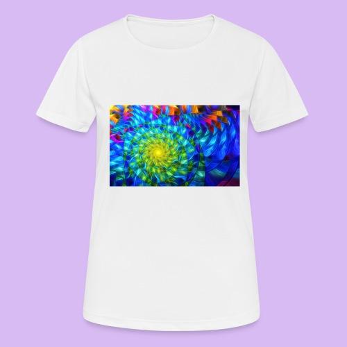 Astratto luminoso - Maglietta da donna traspirante