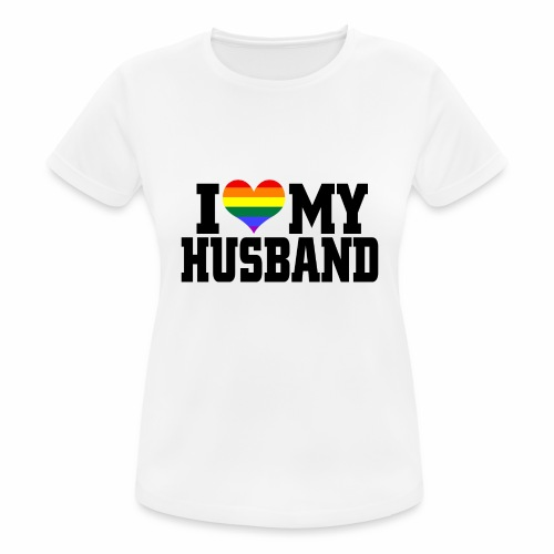 I Heart My Husband - Women's Breathable T-Shirt