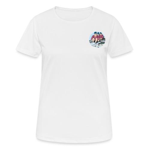 Sport Rudermannschaft - Frauen T-Shirt atmungsaktiv