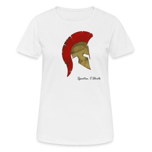 Spartan - Pustende T-skjorte for kvinner
