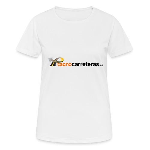 Tecnocarreteras - Camiseta mujer transpirable