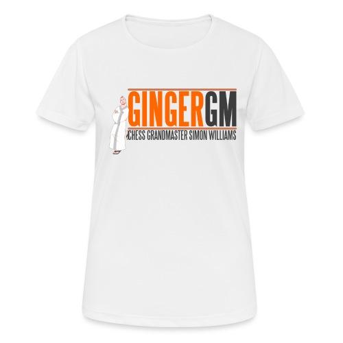 Ginger GM Logo - Women's Breathable T-Shirt