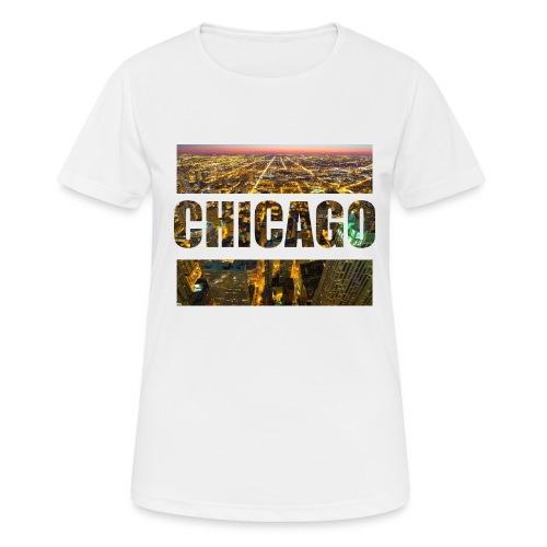 Chicago - Frauen T-Shirt atmungsaktiv