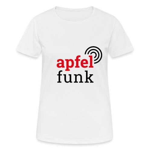 Apfelfunk Edition - Frauen T-Shirt atmungsaktiv