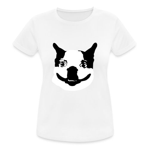 Lennu - Mustavalkoinen - naisten tekninen t-paita
