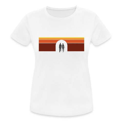 Couple in tunnel warm - Dame T-shirt svedtransporterende