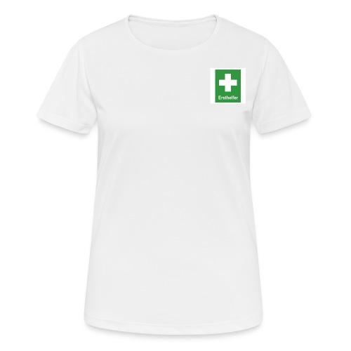 Erst Helfer - Frauen T-Shirt atmungsaktiv