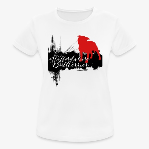 Staffordshire Bullterrier - Frauen T-Shirt atmungsaktiv