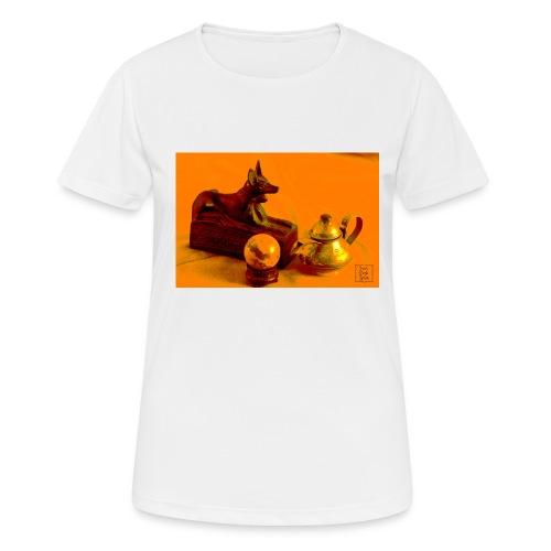 Anubi nel deserto - Maglietta da donna traspirante