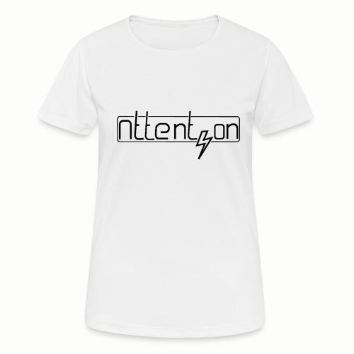 attention - Vrouwen T-shirt ademend actief