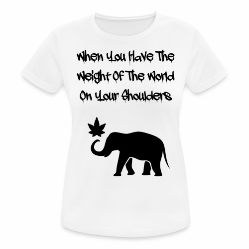 Weight Of The World - Women's Breathable T-Shirt