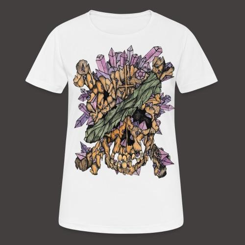 Crane de Pirate de Cristal Couleur - T-shirt respirant Femme