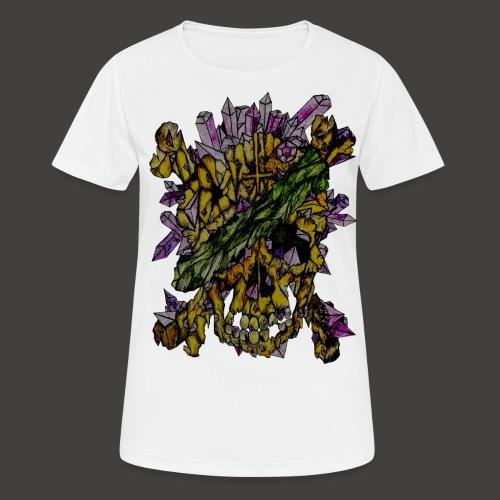 Crane de Pirate de Cristal Creepy - T-shirt respirant Femme