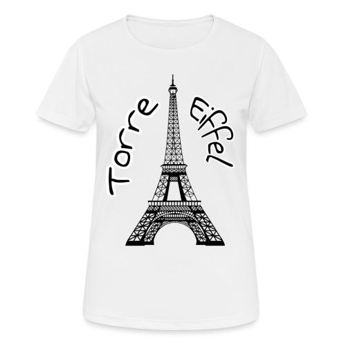 torre eiffel - Camiseta mujer transpirable