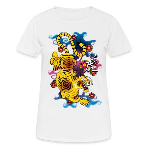 Japanese Tiger - Tattoo design - T-shirt respirant Femme