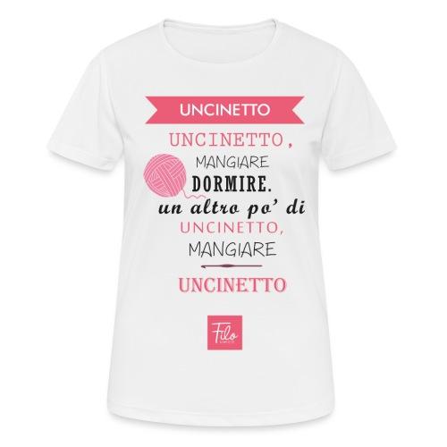 Uncinetto quotidiano - Maglietta da donna traspirante