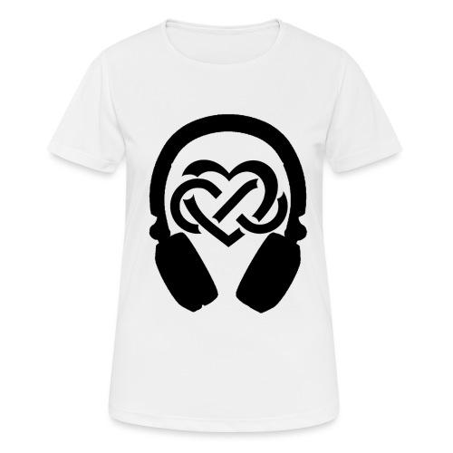 Liefde voor muziek - Vrouwen T-shirt ademend actief