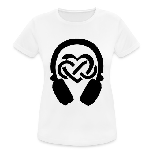 Liefde voor muziek - vrouwen T-shirt ademend