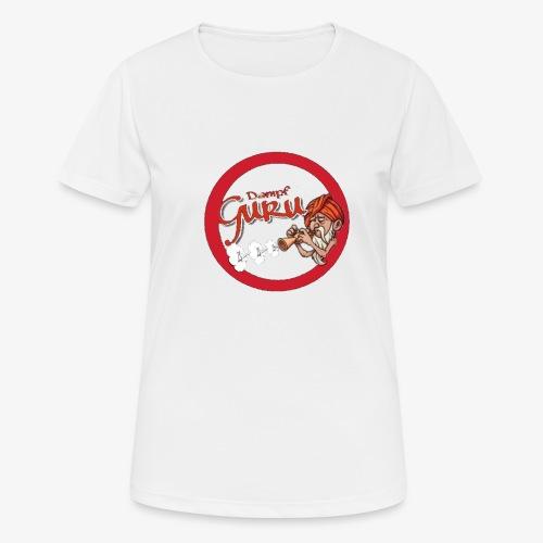 Dampf Guru Logo - Frauen T-Shirt atmungsaktiv