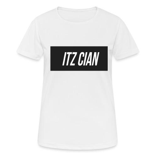 ITZ CIAN RECTANGLE - Women's Breathable T-Shirt