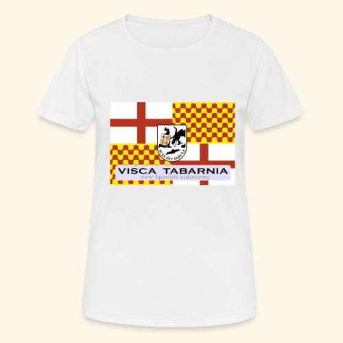 tabarnia01 - Camiseta mujer transpirable