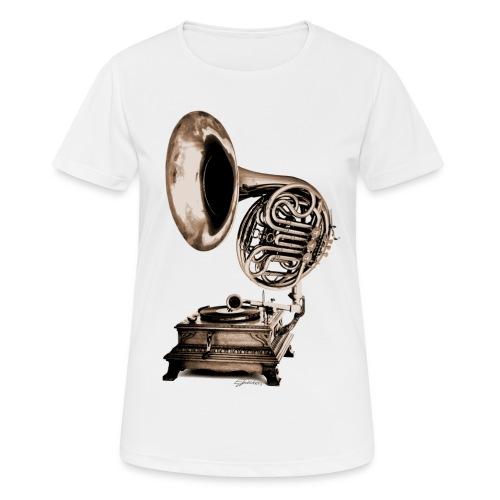 Grammo-Horn - Frauen T-Shirt atmungsaktiv