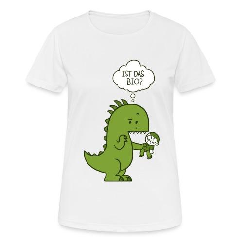 Bio-Dinosaurier - Frauen T-Shirt atmungsaktiv