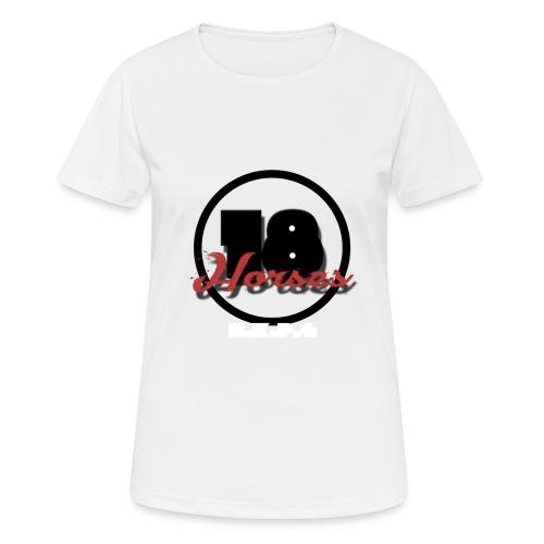 18 Horses - NKPG (White) - Andningsaktiv T-shirt dam