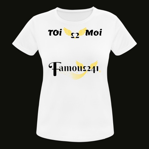 toi💖moi by famous241 - T-shirt respirant Femme