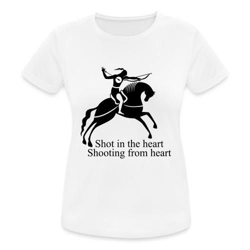 Shot in the Heart - Women's Breathable T-Shirt