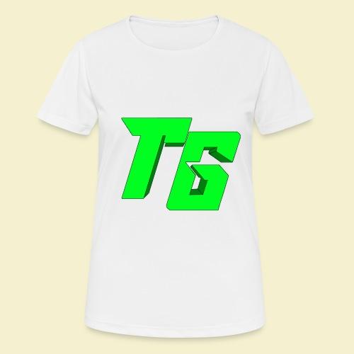 TristanGames logo merchandise [GROOT LOGO] - Vrouwen T-shirt ademend actief