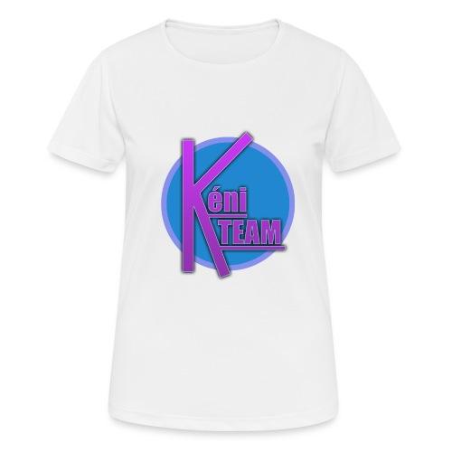 LOGO TEAM - T-shirt respirant Femme
