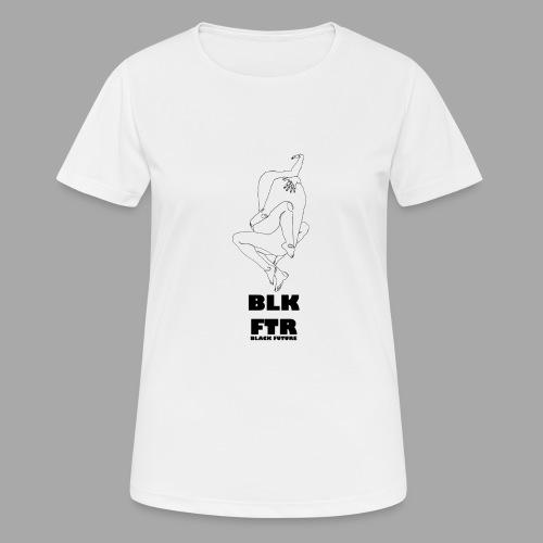 BLK FTR N°7 - Maglietta da donna traspirante