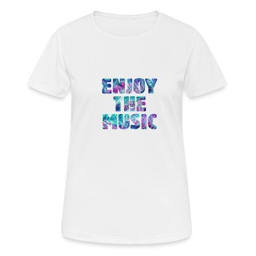 ENJOYTHEMUSIC PALMTREE - Camiseta mujer transpirable