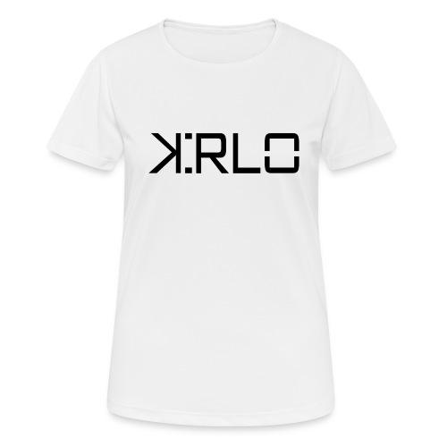 Kirlo Logotipo Negro - Camiseta mujer transpirable