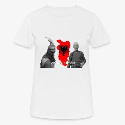 Autochthonous das Shirt muss jeder Albaner haben - Frauen T-Shirt atmungsaktiv