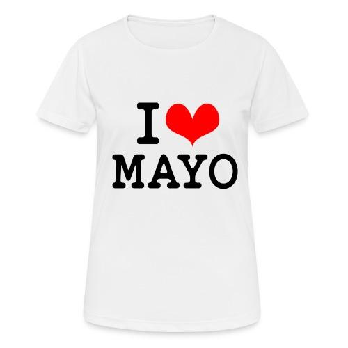 I Love Mayo - Women's Breathable T-Shirt