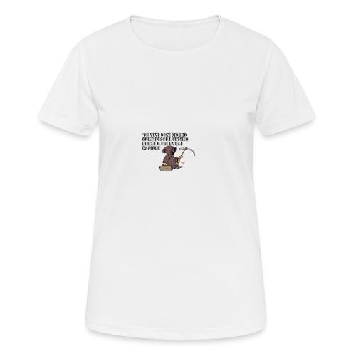 Comicità - Maglietta da donna traspirante