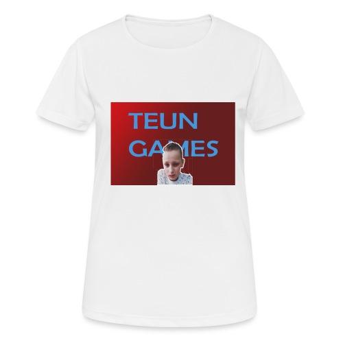 TeunGames foto - Vrouwen T-shirt ademend actief
