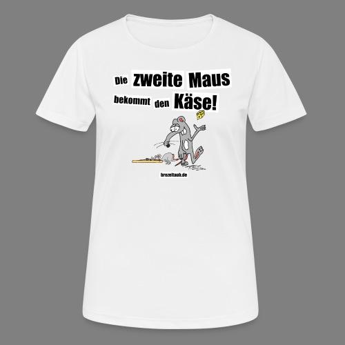Die zweite Maus - Frauen T-Shirt atmungsaktiv