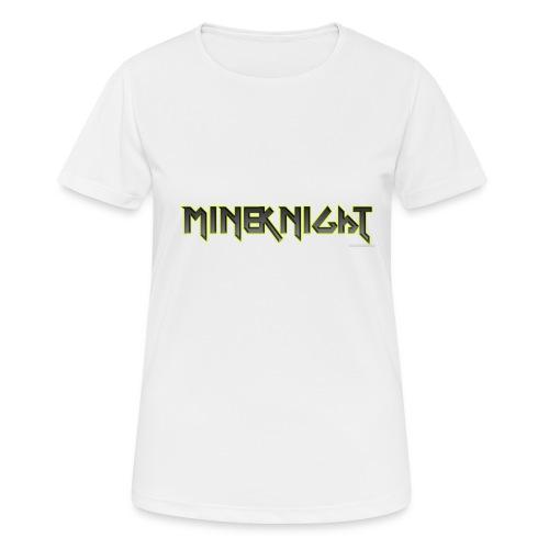 MineKnight mugg - Andningsaktiv T-shirt dam
