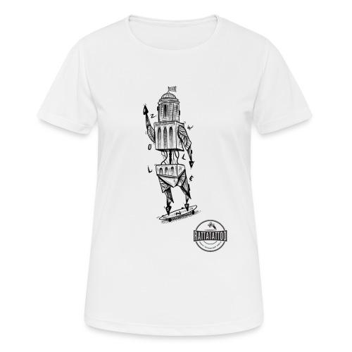 ZWOLLE 038 rattatattoo zwolle perperbus - Vrouwen T-shirt ademend actief