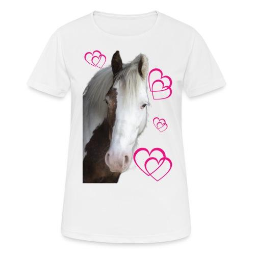 Hästälskare (Daisy) - Andningsaktiv T-shirt dam