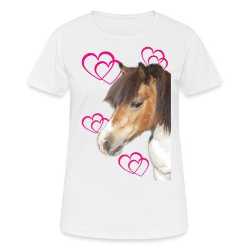 Hästälskare (Bella) - Andningsaktiv T-shirt dam